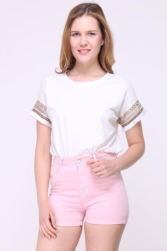 Tričko Indiana, biele