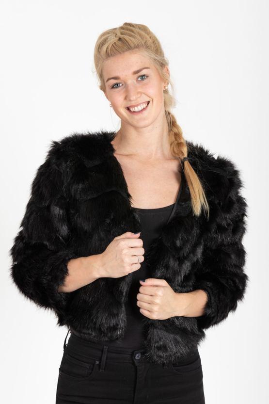 Kabátik Soliana, čierny