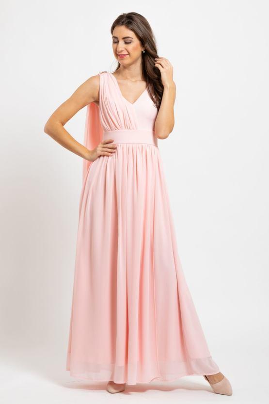 Plesové šaty Antika, marhuľové