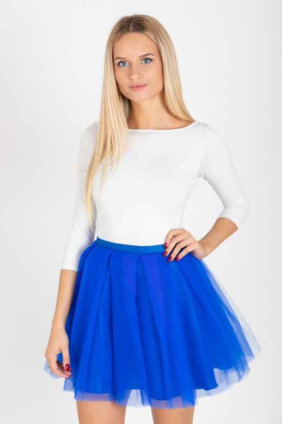TUTU sukňa Mažoretka, modrá