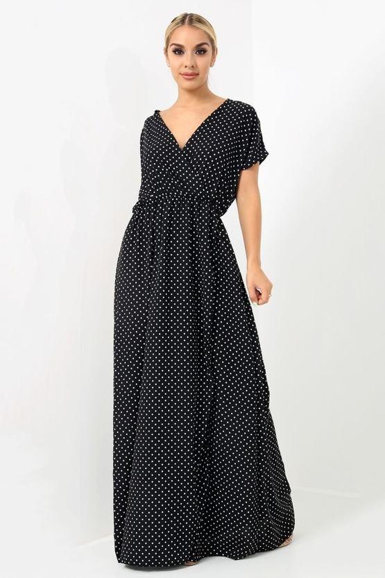 Maxi šaty Lalala da9024c6520