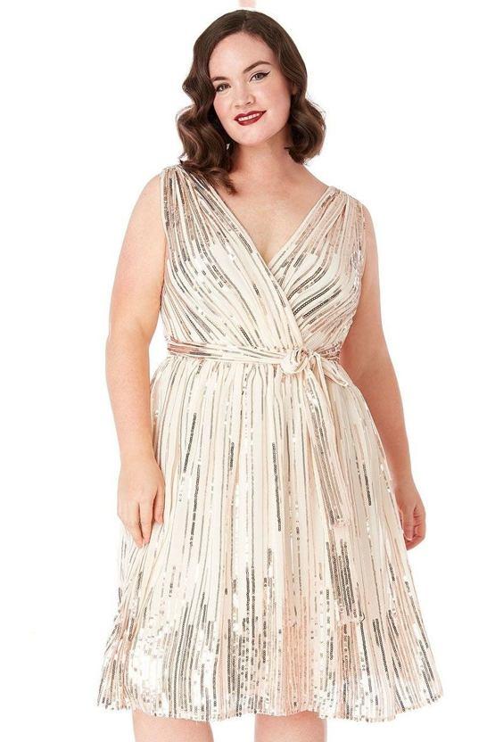 Plus size šaty Kasiopea 47fe2bd9c3f