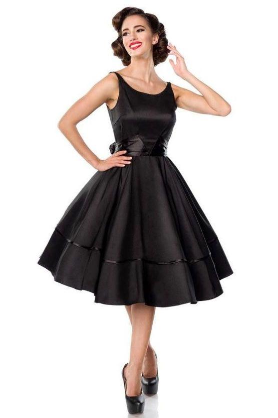 Šaty Madonna, čierne