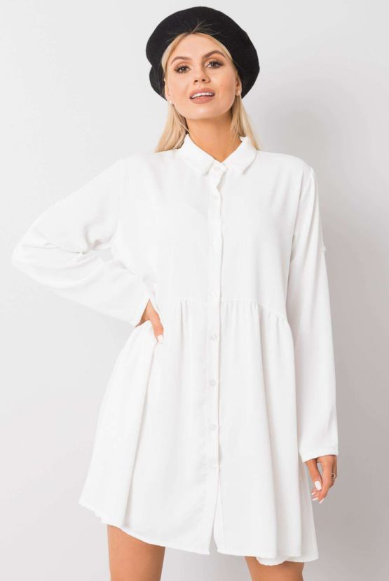 Tunikové šaty Leonie, bílé