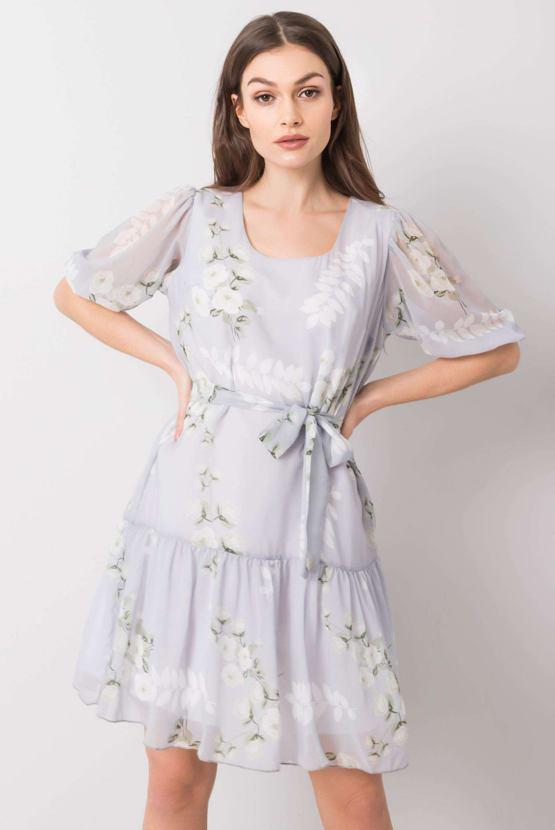 Šaty Valentýnka, šedé