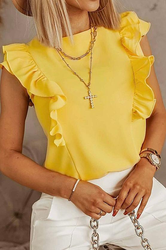 Halenka Babiana, žlutá