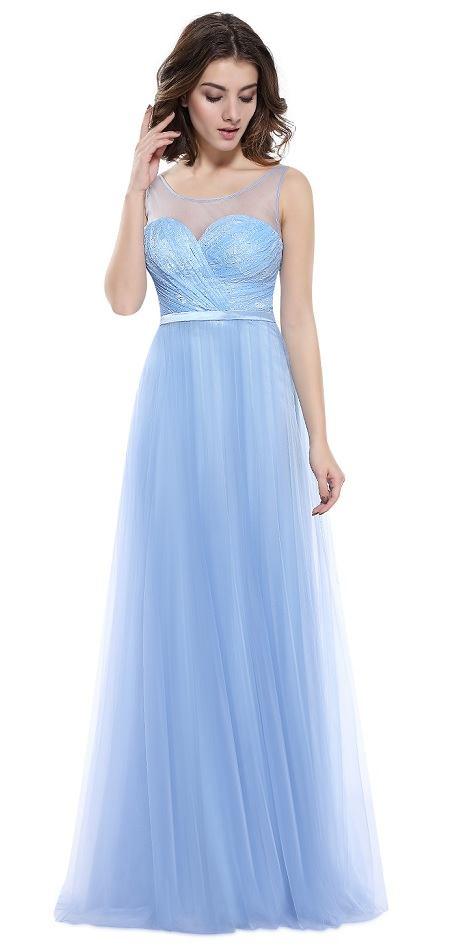 e0cfdda2d Ever-Pretty plesové šaty Královna zimy, modré - POSHme.cz