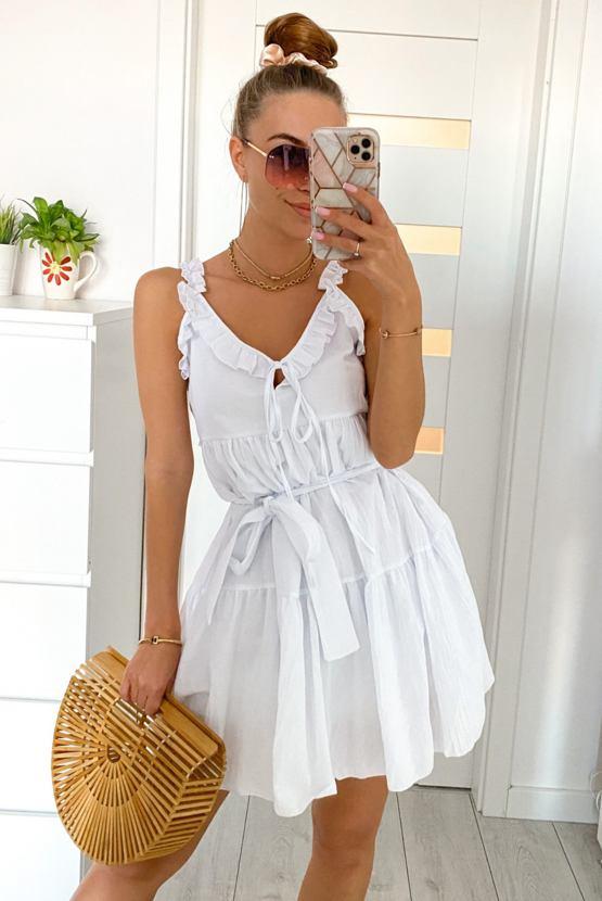 Šaty Rudy, bílé