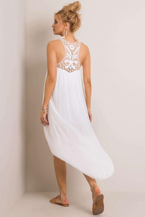 Boho šaty Ciao, bílé