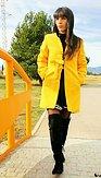 Shein kabát Žlťások