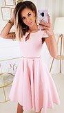 Šaty Romantická láska, ružové