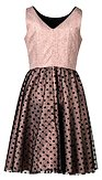 Spoločenské šaty Tiramisu, hnedé