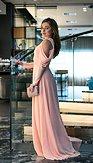 Plesové šaty Svetokrása, marhuľové