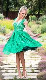 Destiny Chic exkluzívny model Emerald Dream, zelený