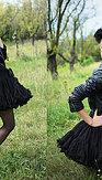 DOLLY Audrey Hepburn čierna Petti sukňa