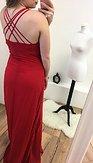 Plesové šaty Rosanella, červené