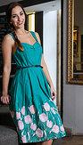 LindyBop šaty Bernice, Tulipány