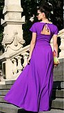Maxi šaty Lady Purple, fialové