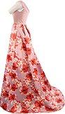 Plesové šaty Nektarinka, ružové
