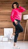 Svetr Hopsinka, růžový